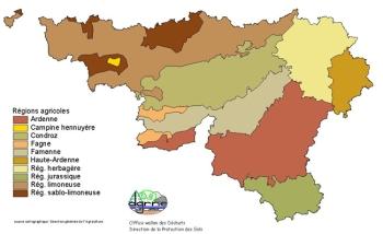 1- régions agricoles